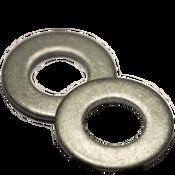 """1/4"""" SAE Flat Washers Low Carbon  Plain (100 /Pkg.)"""