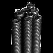 "1-3/8""-6x12' UNC A307 Grade A All Thread Rods Plain (1/Pkg.)"