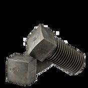 "9/16""-18x1 3/4"" (FT) Square Head Set Screw, Cup Point, Fine, Case Hardened (200/Bulk Pkg.)"
