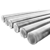 "1/2""x3' Steel Rounds (Unthreaded) Zinc (10/Bulk Pkg.)"