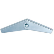 #6-32 Toggle Wing, Zinc Cr+3 (3250/Bulk Pkg.)