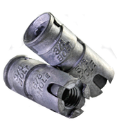 """5/8"""" Expansion Shield Anchor, Single, Zinc Alloy (100/Bulk Pkg.)"""