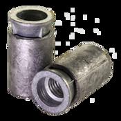 """5/16""""-18  Machine Screw Anchor Zinc Alloy Cone/Lead Sleeve w/Tool (100/Pkg.)"""