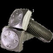 """5/16""""-18x3"""" Partially Threaded A307 Grade A Square Head Bolt Plain (100/Pkg.)"""