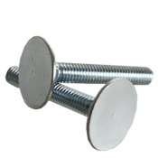"3/8""-16x2"" (FT) Flat Countersunk Head Elevator Bolts Grade 2 Zinc Cr+3 (50/Pkg.)"