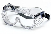 General Purpose Perforated Frame Safety Goggles, Regular Size (12/Pkg.)