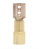 12-10 AWG Nylon Insulated .250 Female Quick Disconnect (1,000/Bulk Pkg.)