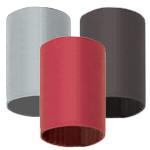 "Single Wall - No Adhesive Heat Shrink - 1/8""  X 4"" Black (1,000/Bulk Pkg.)"