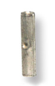 22-18 AWG .970 Length Non-Insulated Butt Splice Connector - Butted Seam
