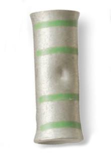 1 AWG Butt Electrical Lug - Green