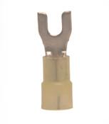 12-10 AWG Nylon Insulated #6 Spade Terminal
