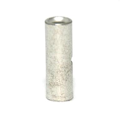 4 AWG 1.140 Length Non-Insulated Butt Splice Connector - Seamless