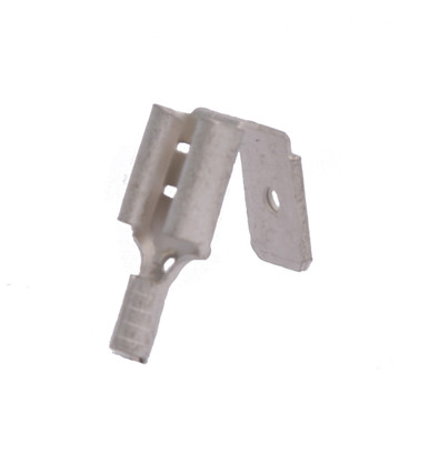 12-10 AWG .250 Stud Non-Insulated Piggyback Connectors  - Butted Seam