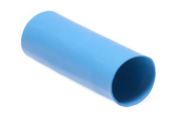 """16-14 AWG Dual Walled Color Coated - Adhesive Lined Heat Shrink - 1/4""""  X 6""""  Blue"""