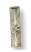 16-14 AWG .560 Length Economy Non-Insulated Butt Splice Connector - Butted Seam