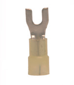 8 AWG #10 Nylon Insulated Spade Terminal