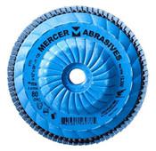 "Mercer 342040 4-1//2/"" Premium Zirconia Flap Disc 40 Grit 4-1//2/"" x 7//8/"""