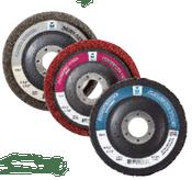 "Surface Preparation Wheel - 4-1/2"" x 5/8""- 11- Fine, Qty. 20, Mercer Abrasives 396HMR (10/Pkg.)"