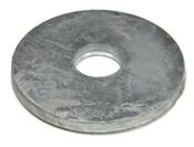 "1-1/2""X6""X3/8"" Round Plate Washer Plain (20/Bulk Pkg.)"