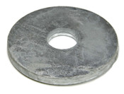 "1-1/4""X5""X3/8"" Round Plate Washer Plain (25/Bulk Pkg.)"