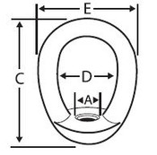 "3/4""-10 Forged Eye Nuts, Plain (25/Pkg)"