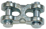 "1/4""-5/16"" Twin Double Clevis Link, Zinc Plated (12/Pkg)"