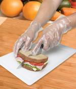 Single Use Polyethylene Food Service Gloves, Large (1,000/Case)