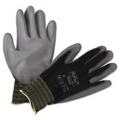 HyFlex Lite Gloves, Black/Gray, Size 8 (12 Pair)