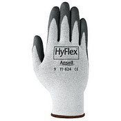 HyFlex Dyneema Cut-Protection Gloves, Gray, Size 10 (12 Pair)