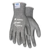 Ninja Force Polyurethane Coated Safety Gloves, X-Large, Gray (1 Pair)