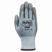 HyFlex 627 Light-Duty Gloves, Size 9, Dyneema/Lycra/Polyurethane, Gray (12 Pair)