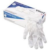 Powder-Free Vinyl General-Purpose Gloves, Natural, Small (1,000/Case)