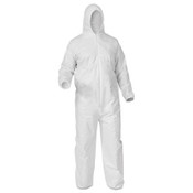 A35 Liquid & Particle Protection Coveralls, XX-Large, White (25/Case)