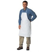 Tyvek Apron, White, One Size Fits All (100/Case)