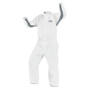 A40 Liquid & Particle Protection Coverall Lab Coats, 2XL, White (30/Case)