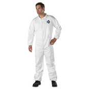 Protective coveralls with elastic at wrist and ankle cuffs 3XL