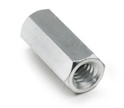 "1/4"" OD x 1/4"" L x 6-32 Thread Stainless Steel Female/Female Hex Standoff (500 /Bulk Pkg.)"