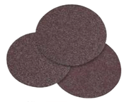 "Aluminum Oxide Cloth Discs - PSA - 6"" x No Dust Holes, Grit: 100, Mercer Abrasives 351100 (50/Pkg.)"