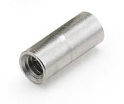 "1/4"" OD x 1/4"" L x 4-40 Thread Aluminum Female/Female Round Standoff, Plain (1000 /Bulk Pkg.)"