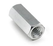 "1/4"" OD x 7/16"" L x 4-40 Thread Stainless Steel Female/Female Hex Standoff (250 /Pkg.)"