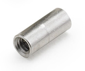 "1/4"" OD x 13/16"" L x 6-32 Thread Aluminum Female/Female Round Standoff, Plain (1000 /Bulk Pkg.)"