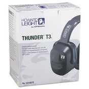 Thunder T3 Dielectric Earmuffs, 30NRR, Black (1 Pair)