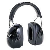 Leightning L3 Noise-Blocking Earmuffs, 30NRR, Black (1 Pair)
