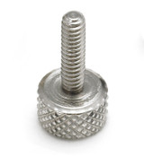 """#8-32x9/16"""" Knurled Thumb Screws, Aluminum (100/Bulk Pkg.)"""