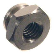 """8-32x7/16"""" Hex Thumb Nuts, Aluminum (50/Pkg.)"""