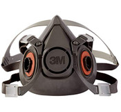 3M 6300 Half Facepiece Reusable Respirator, Large (1 Mask)