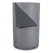 "High-Traffic Series Sorbent-Pad Roll, 63 gal, 30"" x 300 ft, Gray (1 Roll)"