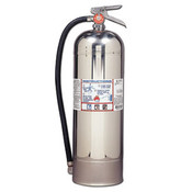 "Pro Plus Line Pro 2.5 W Fire Extinguisher, 2-A, 100psi, 24.75"" x 7"", 2.5 gal (Qty. 1)"