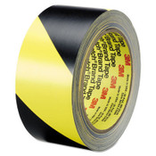 "Safety Stripe Tape, 2"" x 100 ft, Black/Yellow (Qty. 1)"