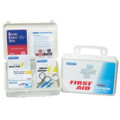 25 Person First Aid Kit in Plastic Case, Ideal for Offices